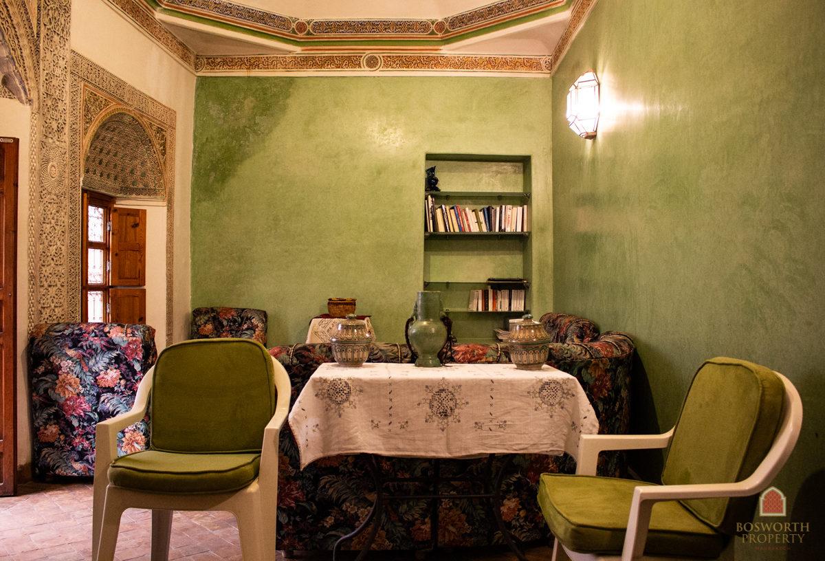 Delightful Riad Pied a Terre For Sale Marrakech - Riads For Sale Marrakech from Bosworth Property - Riad For Sale - Marrakesh Realty - Marrakech Real Estate - Immobilier Marrakech - Riads a Vendre