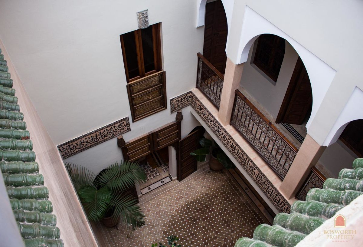 Riads For Sale Marrakech - Renovated Riad For Sale Marrakech - Marrakesh Realty - Marrakech Real Estate - Immobilier Marrakech - Riads a Vendre Marrakech