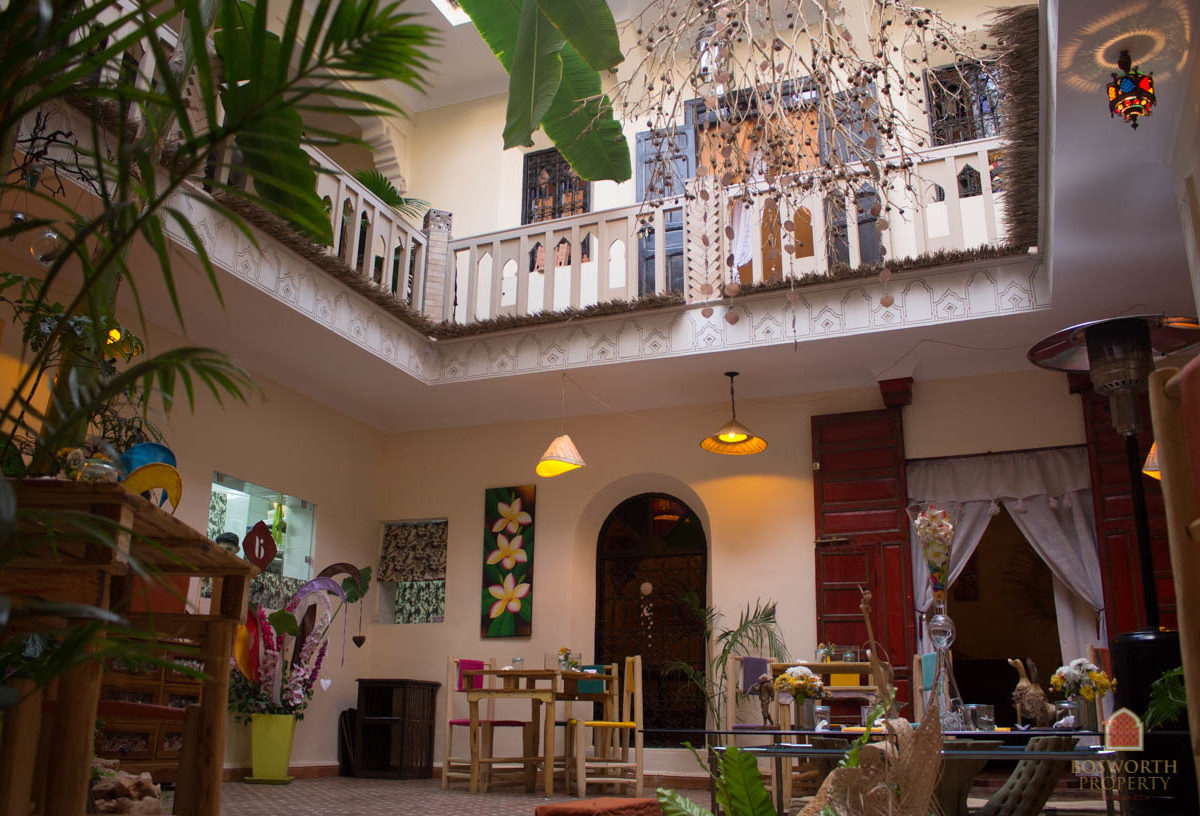 Riad Guesthouse For Sale Marrakech Medina - Riads For Sale Marrakech - Riad For Sale Marrakech - Marrakesh Realty - Marrakech Real Estate - Immobilier Marrakech - Riads a Vendre Marrakech