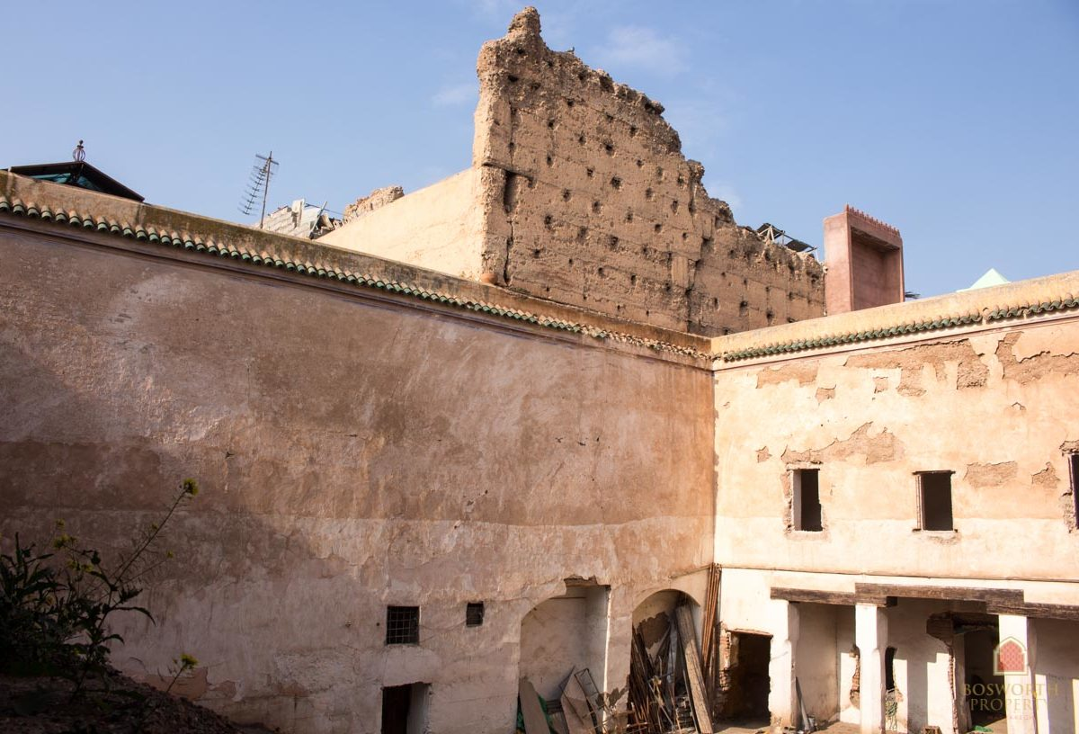 Building Land For Sale Marrakech Medina - Riads For Sale Marrakech - Riad For Sale Marrakech - Marrakesh Realty - Marrakech Real Estate - Immobilier Marrakech - Riads a Vendre Marrakech