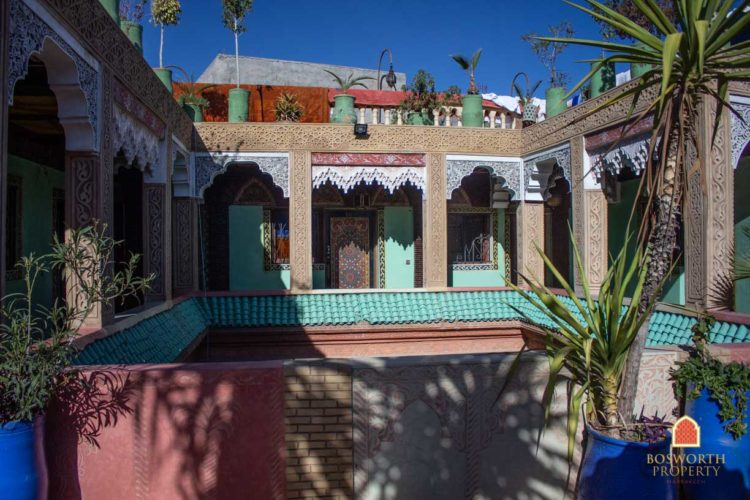Hostel Riad For Sale Marrakech - Riads For Sale Marrakech - Riad For Sale Marrakech - Marrakesh Realty - Marrakech Real Estate - Immobilier Marrakech - Riads a Vendre Marrakech