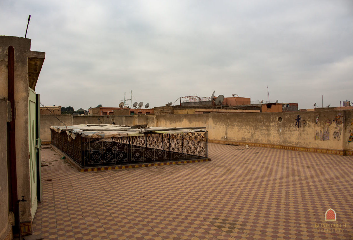 Big Riad To Renovate Marrakech - Riads For Sale Marrakech - Riad For Sale Marrakech - Marrakesh Realty - Marrakech Real Estate - Immobilier Marrakech - Riads a Vendre Marrakech