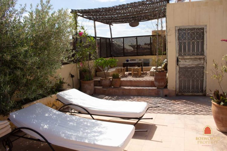 Riads For Sale Marrakech - Charming Riad Guesthouse For Sale Marrakech - Marrakesh Realty - Marrakech Real Estate - Immobilier Marrakech - Riads a Vendre Marrakech