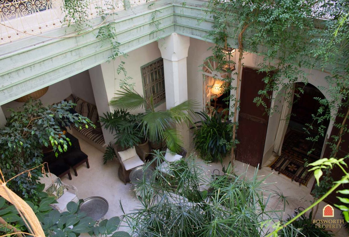 Gorgeous Garden Riad For Sale Marrakech - Marrakesh Realty - Marrakech Real Estate - Immobilier Marrakech - Riads a Vendre Marrakech