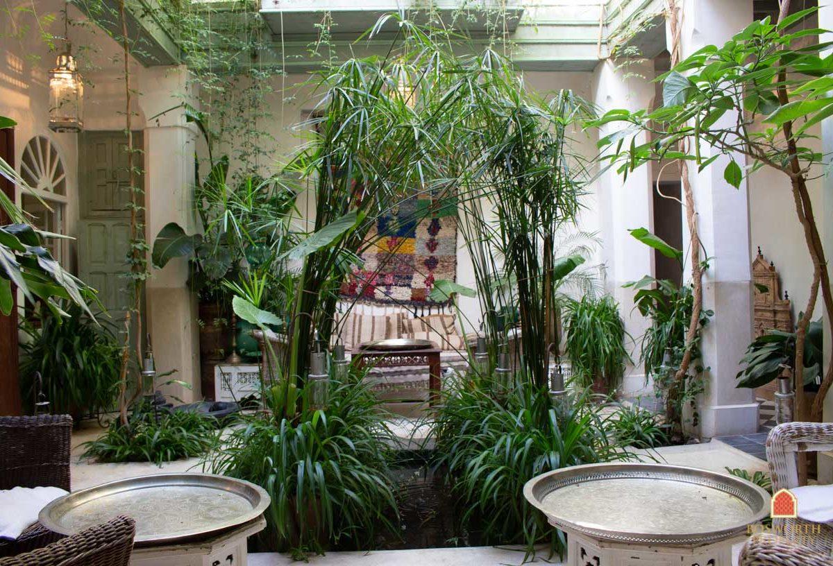 Riads For Sale Marrakech - Gorgeous Garden Riad For Sale Marrakech - Marrakesh Realty - Marrakech Real Estate - Immobilier Marrakech - Riads a Vendre Marrakech