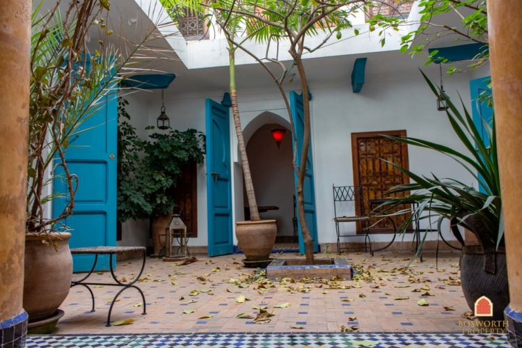 Riads For Sale Marrakech - Family Riad For Sale Marrakech - Marrakesh Realty - Marrakech Real Estate - Immobilier Marrakech - Riads a Vendre Marrakech