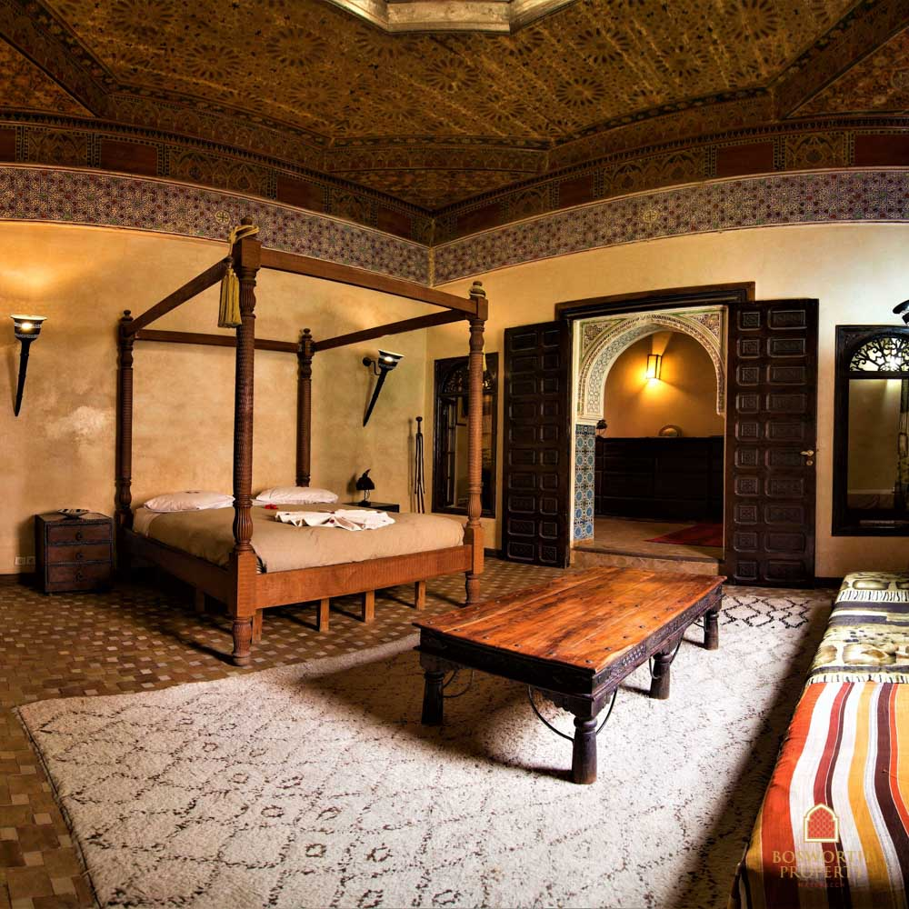 Riads For Sale Marrakech - Histrical Guesthouse Riad For Sale Marrakech - Marrakech Real Estate - Marrakesh Realty - Marrakech Property - Riads A Vendre