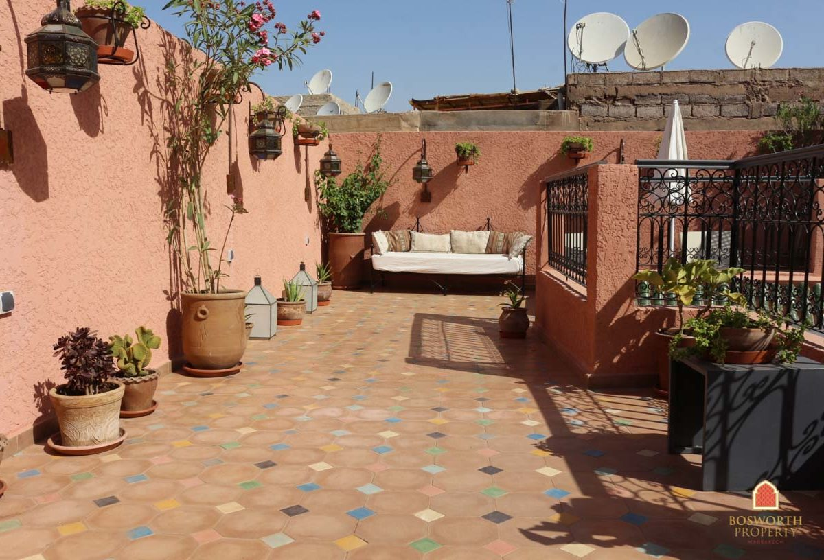 Riads For Sale Marrakech - Restored Riad For Sale Marrakech - Marrakech Real Estate - Marrakesh Realty - Property Marrakech - Riads a Vendre - immobilier Marrakech