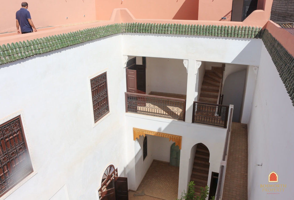 Restored Riad For Sale Marrakech - Riads For Sale Marrakech - Marrakech Real Estate - Riads a Vendre - Immobilier Marrakech