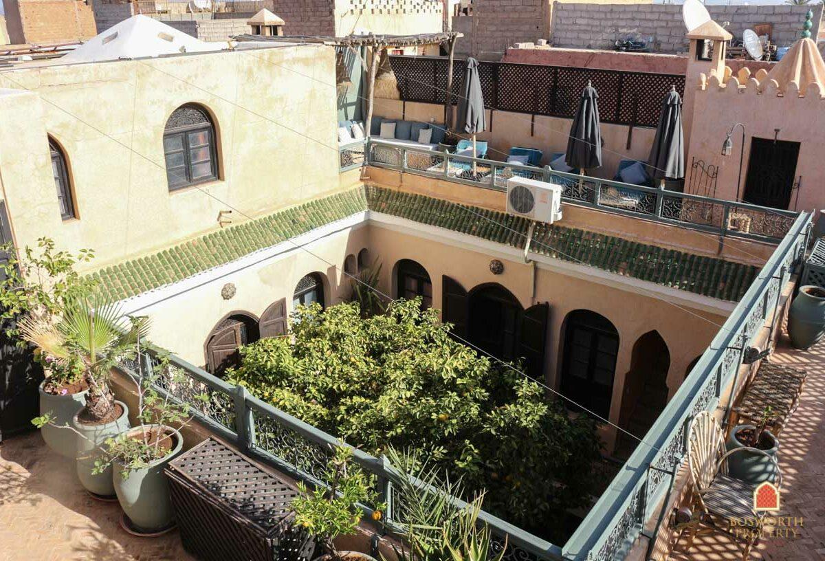 8 en suite Riad For Sale Marrakech - Riads For Sale Marrakech - Marrakech Real Estate - immobilier marrakech - Riads a Vendre Marrakech