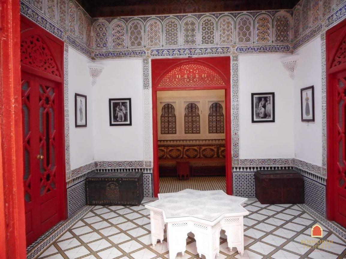 Riads For Sale Marrakech - Riad Museum Cafe Guesthouse For Sale Marrakech Medina - Marrakech Property - Marrakech Real Estate - Riads a Vendre Marrakech