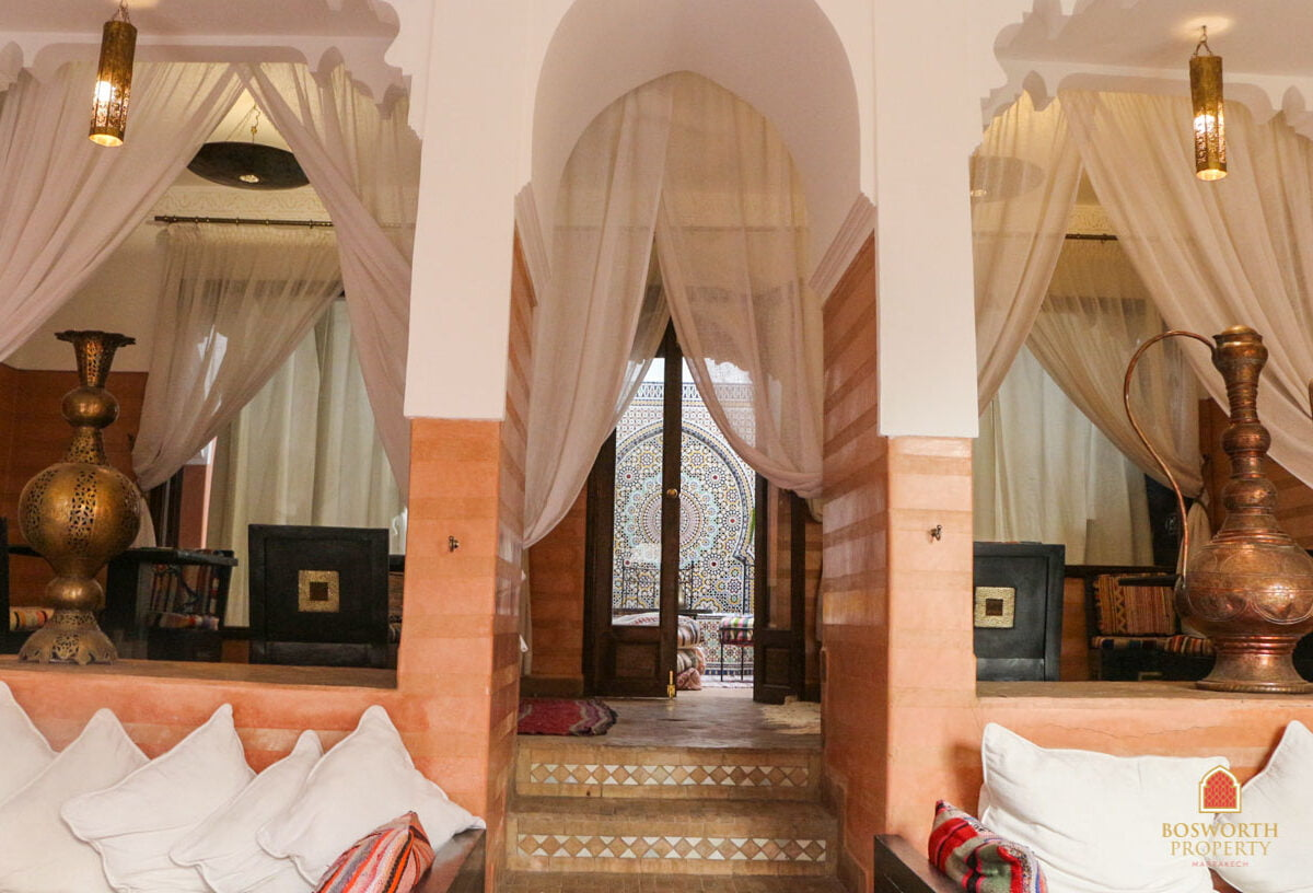 Riads For Sale Marrakech - Gorgeous 9 suite Riad For Sale Marrakech - Marrakesh Realty - Marrakech Real Estate - Immobilier Marrakech - Riads a Vendre Marrakech