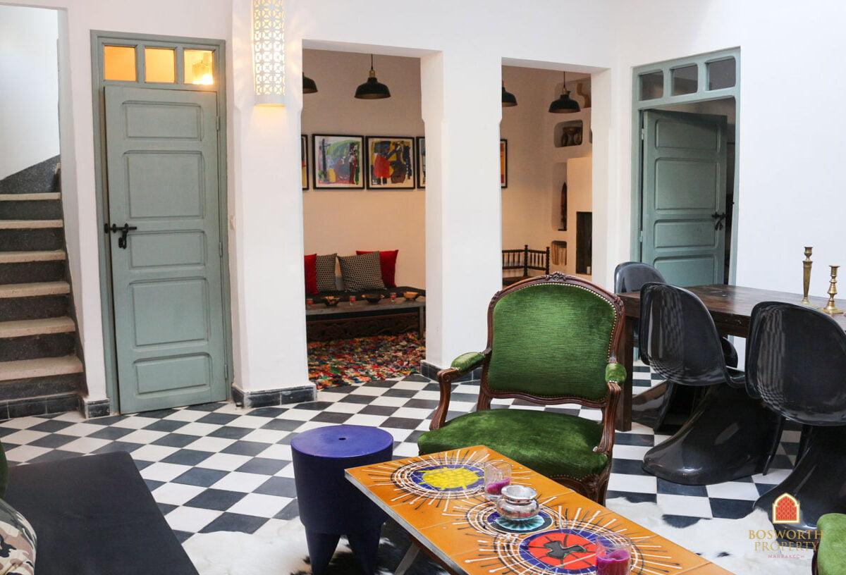 Riads For Sale Marrakech - Fabulous Little Riad For Sale Marrakech - Marrakesh Realty - Marrakech Real Estate - Immobilier Marrakech - Riads a Vendre Marrakech