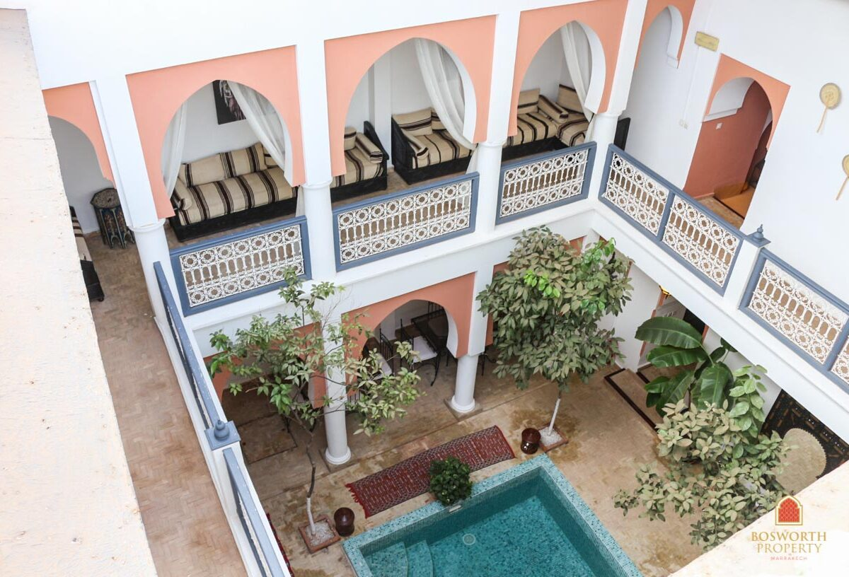 Riads For Sale Marrakech - Riad Guesthouse For Sale Marrakech - Marrakesh Realty - Marrakech Real Estate - Immobilier Marrakech - Riads a Vendre Marrakech