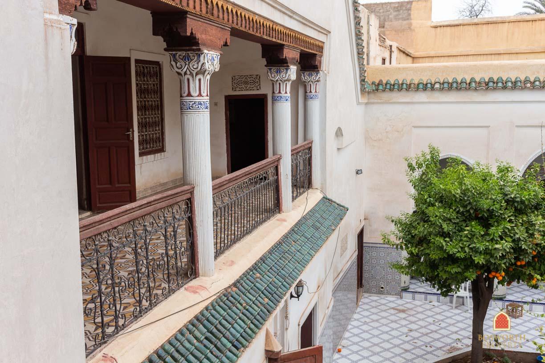 717m2 Ancient Riad For Sale Marrakech Mouassine