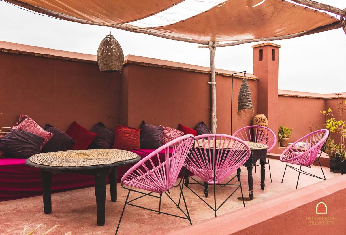 Stunning Wilbaux Riad For Sale Marrakech - Riads For Sale Marrakech - Marrakech Luxury Property - Marrakech Real Estate - Marrakesh Realty - immobilier marrakech - riads a vendre marrakech