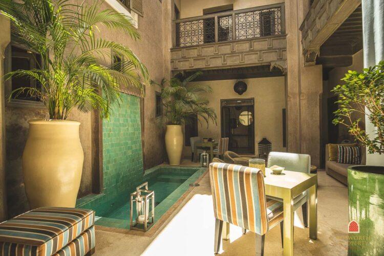 Wonderful Riad For Sale Marrakech - Riads For Sale Marrakech - Marrakech Real Estate - Marrakesh Realty - immobilier marrakech - riads a vendre marrakech